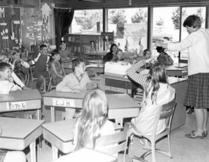 Raskob students in the 1960s